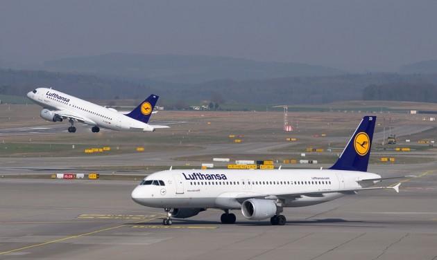 Beperli a repjegyzsonglőrt a Lufthansa