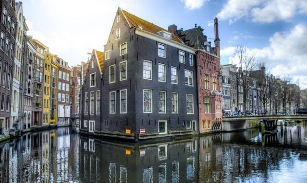 Megbírságolhatják a turistákat Amszterdamban