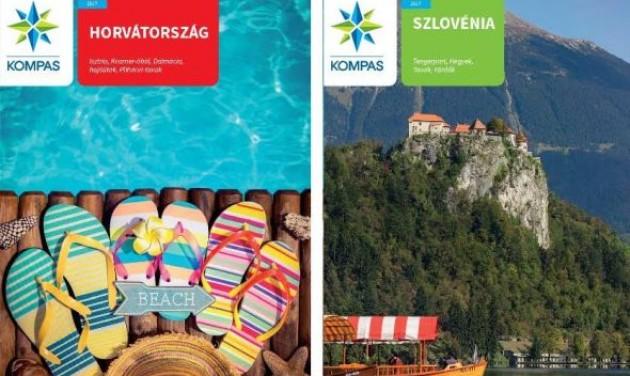 Megjelent a Kompas szlovén-horvát kiutazási katalógusa