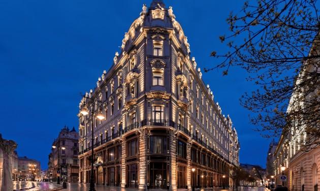 """A Matild Palace kapta a """"Magyarország vezető szállodája"""" címet a World Travel Awardson"""