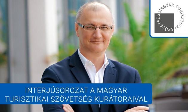 Somlyai Zoltán: nagy versenyelőnynek tartom Budapest élménygazdagságát