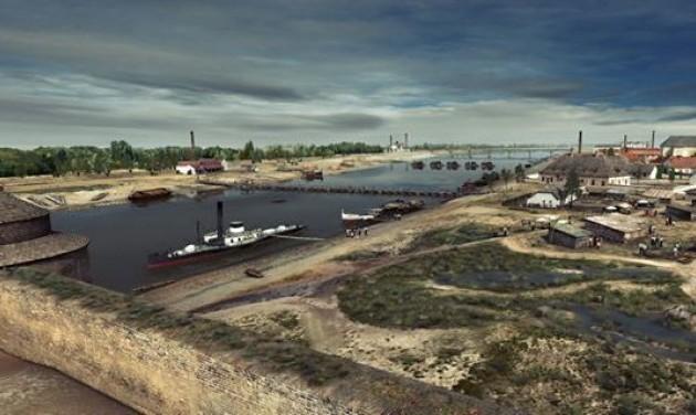 A Nagyárvíz előtti Szeged is megnézhető lesz a Móra-múzeum tetejéről