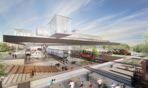 Ilyen lesz a Közlekedési Múzeum