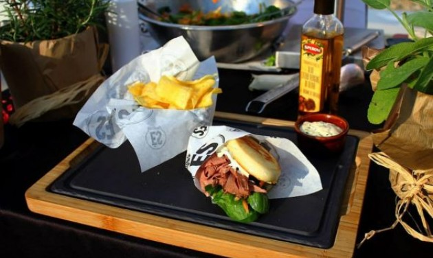 Tafelspitz szendvics az ÉS-ben
