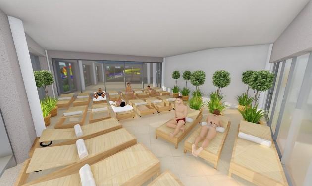 Kétszintes szaunavilágot építenek a Zalakarosi Fürdőben