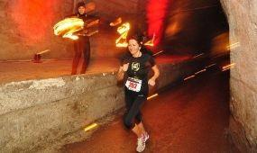 Egyedülálló futóélmény a föld alatt