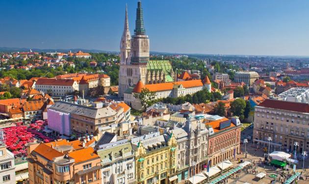 Földrengés rázta meg Zágrábot