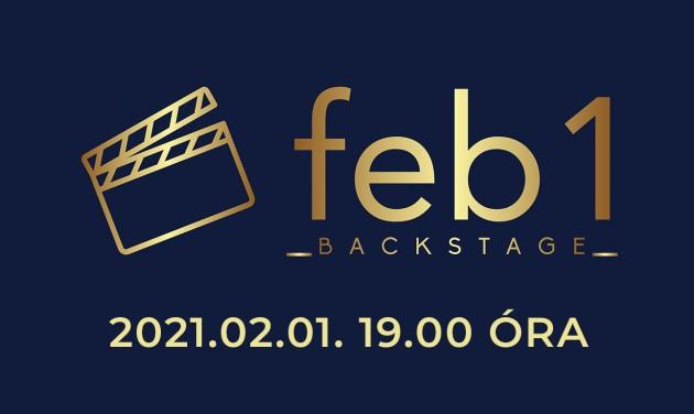 Találkozzunk február 1-jén este a FEB1 Backstage-ben!
