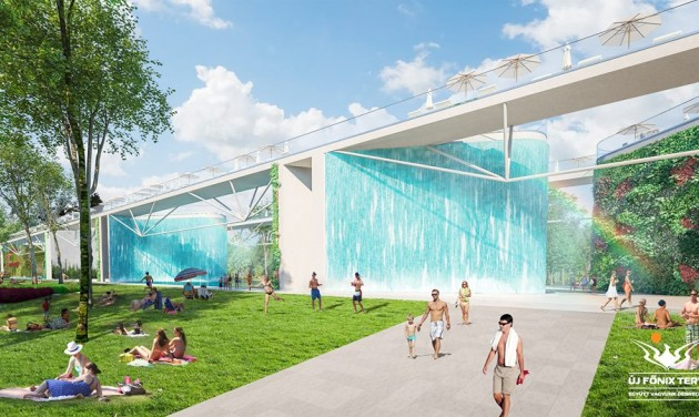 Waterfalls could become Debrecen's new attraction