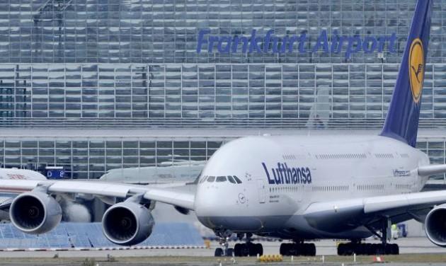 A Lufthansa elégedetlen a frankfurti repülőtérrel