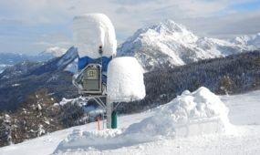 Méteres hó esett Nassfelden