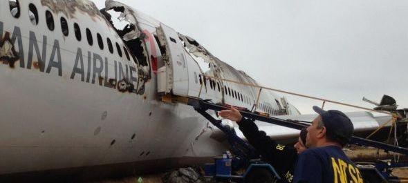 Az Asiana Airlines szerint pilótái hibáztak a San Francisco-i baleseténél