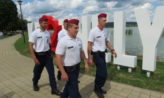 Sikeres rendőri munka a nyári turisztikai szezonban