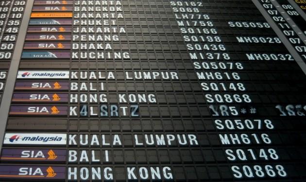 Felfüggesztették a légi közlekedést Hongkongban, nagy a káosz