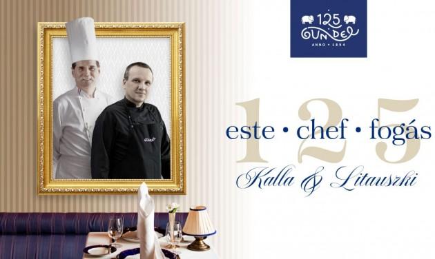 Kalla & Litauszki: 125. születésnapját ünnepli a Gundel