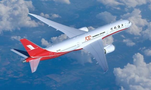 Már kaphatók a Sanghaj-Budapest repülőjegyek