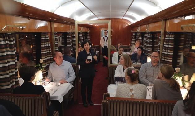 Fine dining a luxusvonaton – amikor az út a fontos, nem a cél