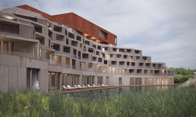 Elhagyott bányaterületen épül ötcsillagos hotel Tokajban