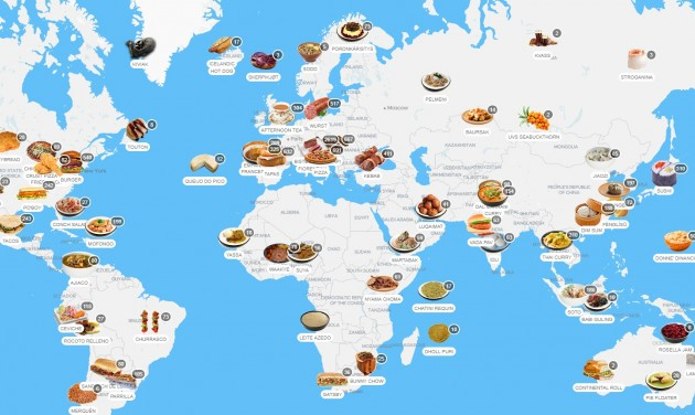 Kóstold meg a világot! – itt a Taste Atlas weboldal