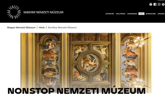 Barangolj a Nemzeti Múzeumban! – otthon