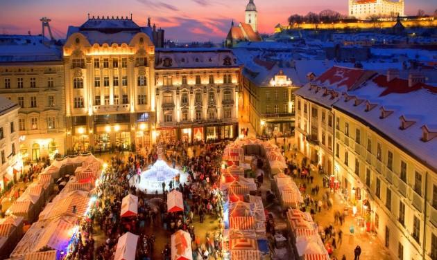 Adventi forgatag Szlovákiában