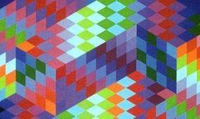 Victor Vasarely reklámgrafikáiból nyílik kiállítás Pécsett