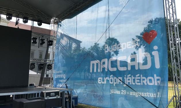 27 ezer vendégéjt hoz Budapestnek a Maccabi Európa Játékok