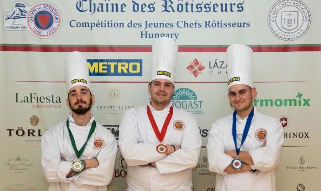 Dalnoki Bence nyerte a Jeunes Chefs Rôtisseurs versenyt
