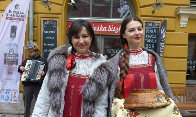 Óriás szamovár és a Vörös tér az Utazáson