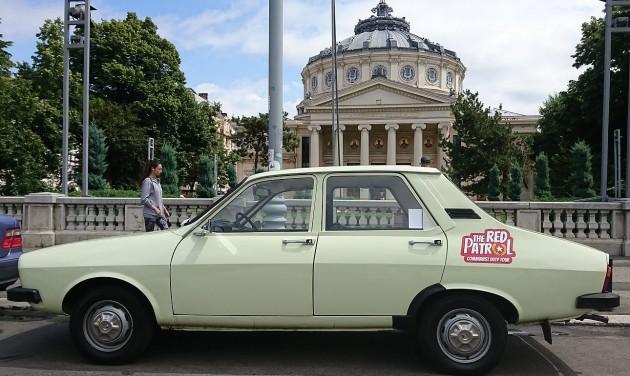 Retró városnézés Bukarestben