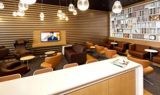 Díjnyertes a Lufthansa új lounge koncepciója