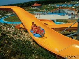 Szabadtéri fitnesz park az Aquacityben