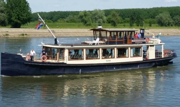 Hajóút a Száván - 100 év kihagyás után