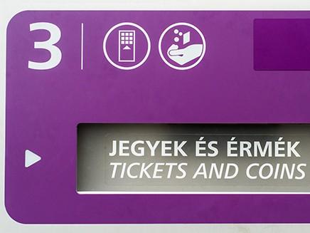 Nem váltható jegy a reptéri buszra és a hajókra a BKK automatáiban