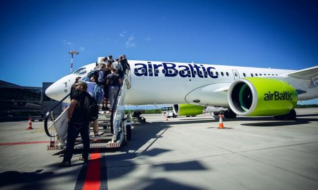 Júniusi rekord az airBaltic-nál