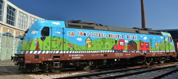 Egyre kevesebb a graffiti a vonatokon