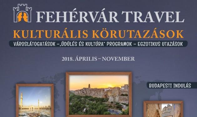 Megjelent a Fehérvár Travel 2018. évi programfüzete