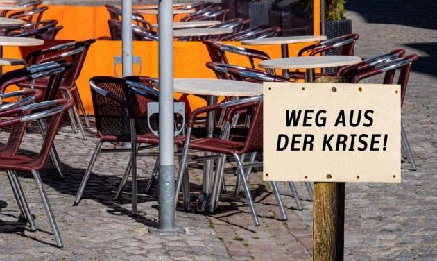 Csődhullámtól tartanak a német turizmusban és vendéglátásban