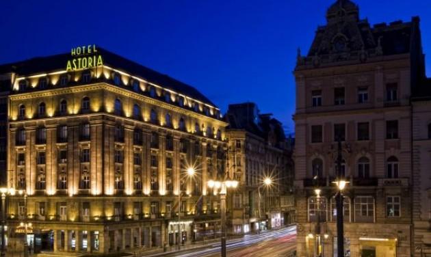 Százéves a Danubius Hotel Astoria, története egy kovácsműhellyel indult