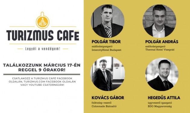 Kávézzunk együtt reggel 9-kor a Turizmus Caféban!