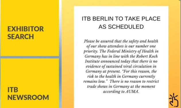 Nem marad el a berlini ITB