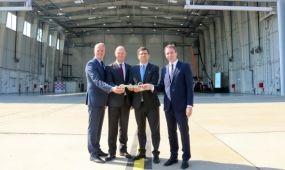 Átadták a Wizz Air új karbantartó hangárját