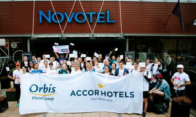 Jótékonysággal egybekötött egészségmegőrzés az AccorHotels Magyarországnál