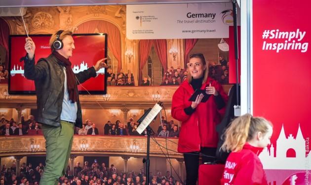 Németország zenekarturnéra indul