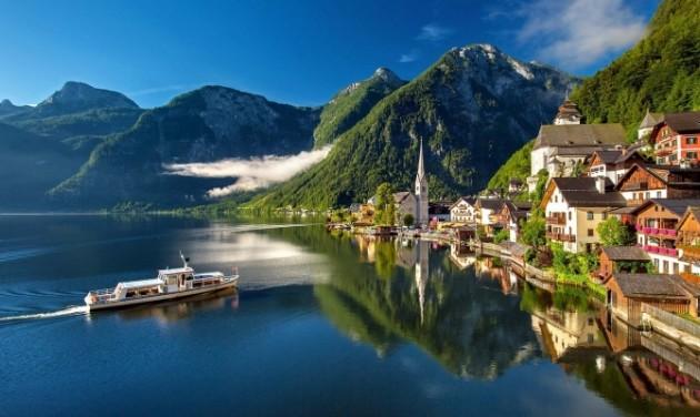 A Jégvarázs miatt turistaroham fojtogat egy osztrák falut