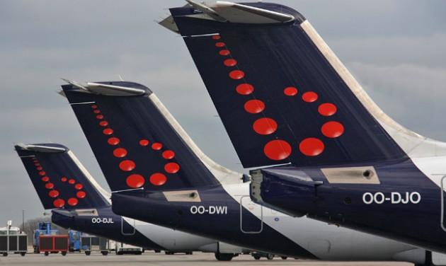 A Eurowings színeire váltanak a Brussels rövidtávú gépei