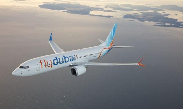 A flydubai első járata megérkezett Budapestre