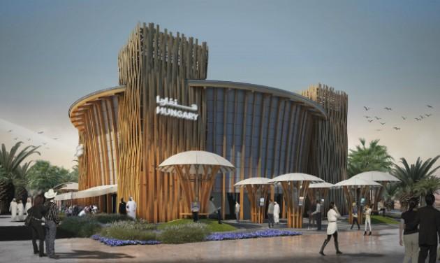 Decemberre elkészül a dubaji világkiállítás magyar pavilonja