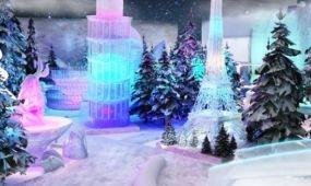 Kína első mobil havas témaparkja nyílt meg Sanghajban