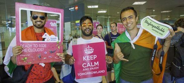 Bulihegyek a repülőtéren: így indult a Tomorrowland-járat